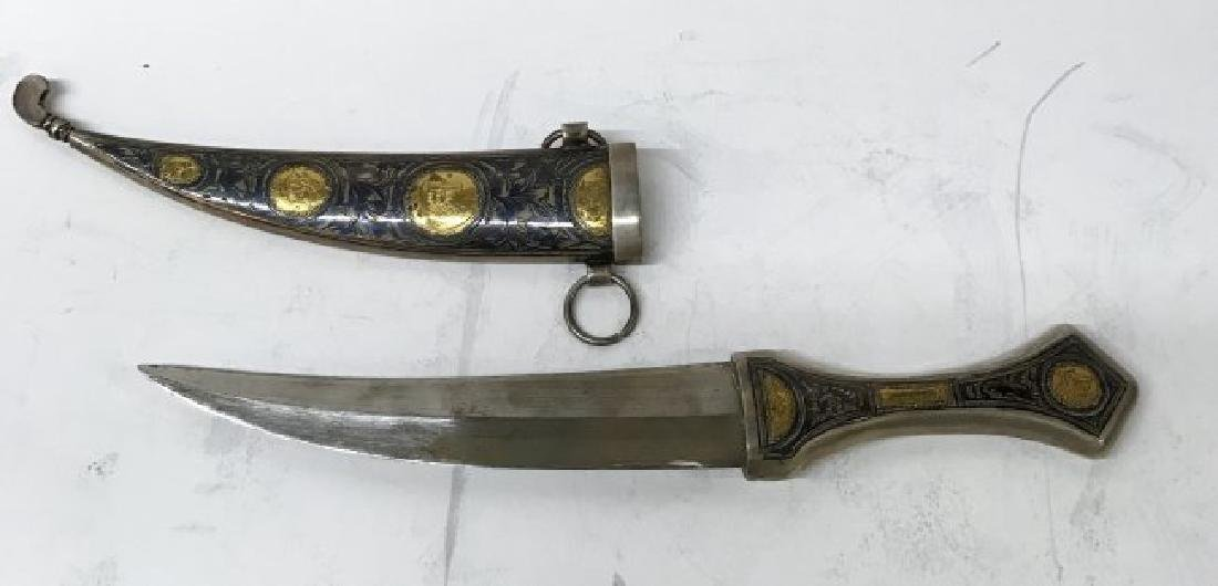 Russian Silver Knife
