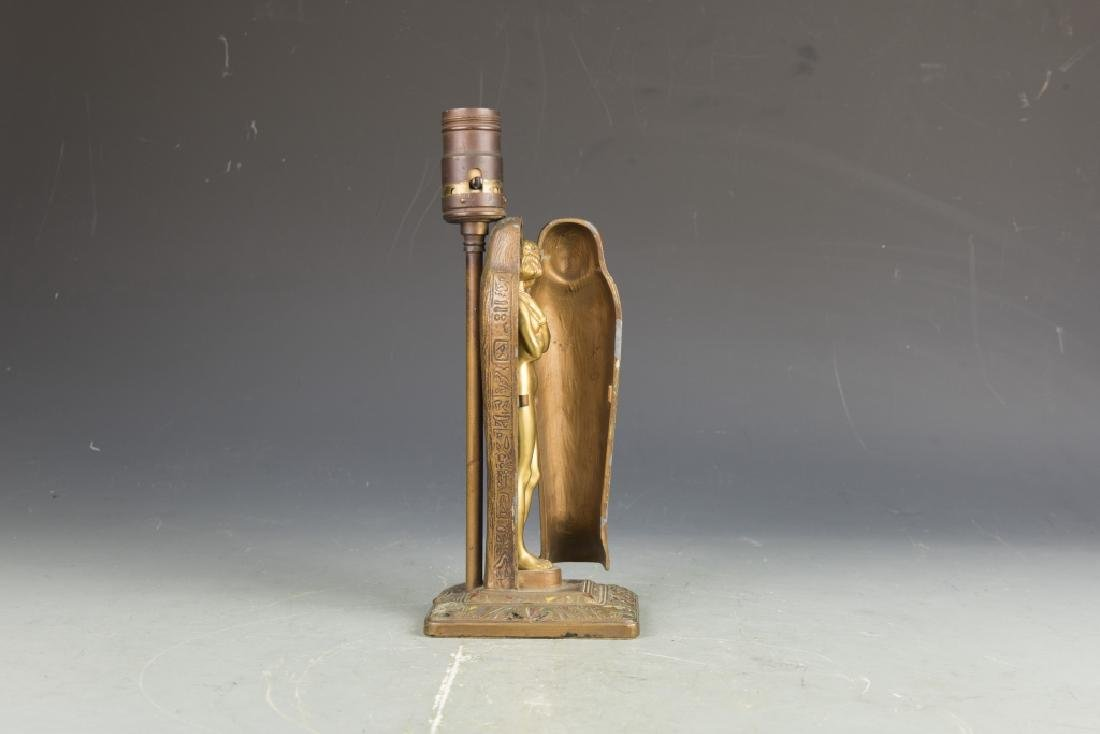 Aronson Art Deco Egyptian Mummy Lamp - 5