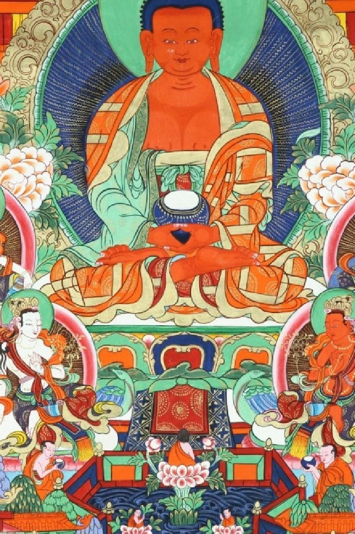 Chinese Tibetan Thangka - 2