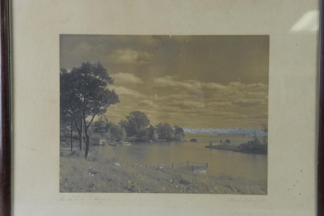Vintage Photograph of a River Scene - 2