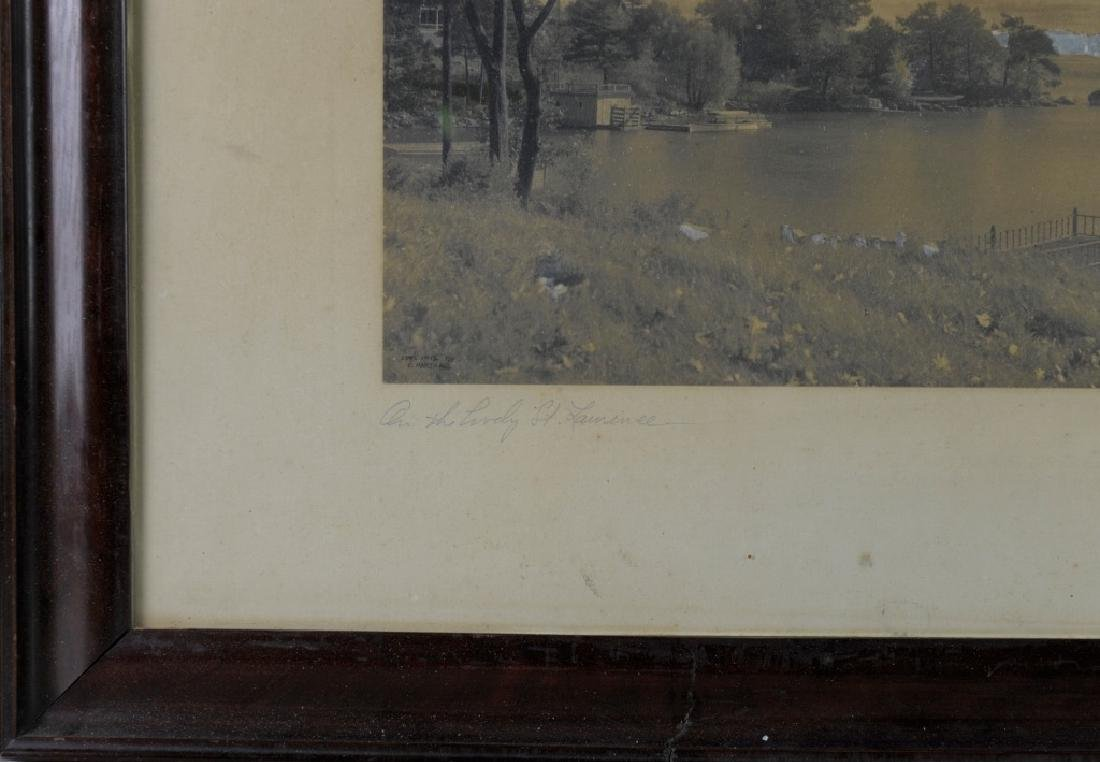 Vintage Photograph of a River Scene - 3