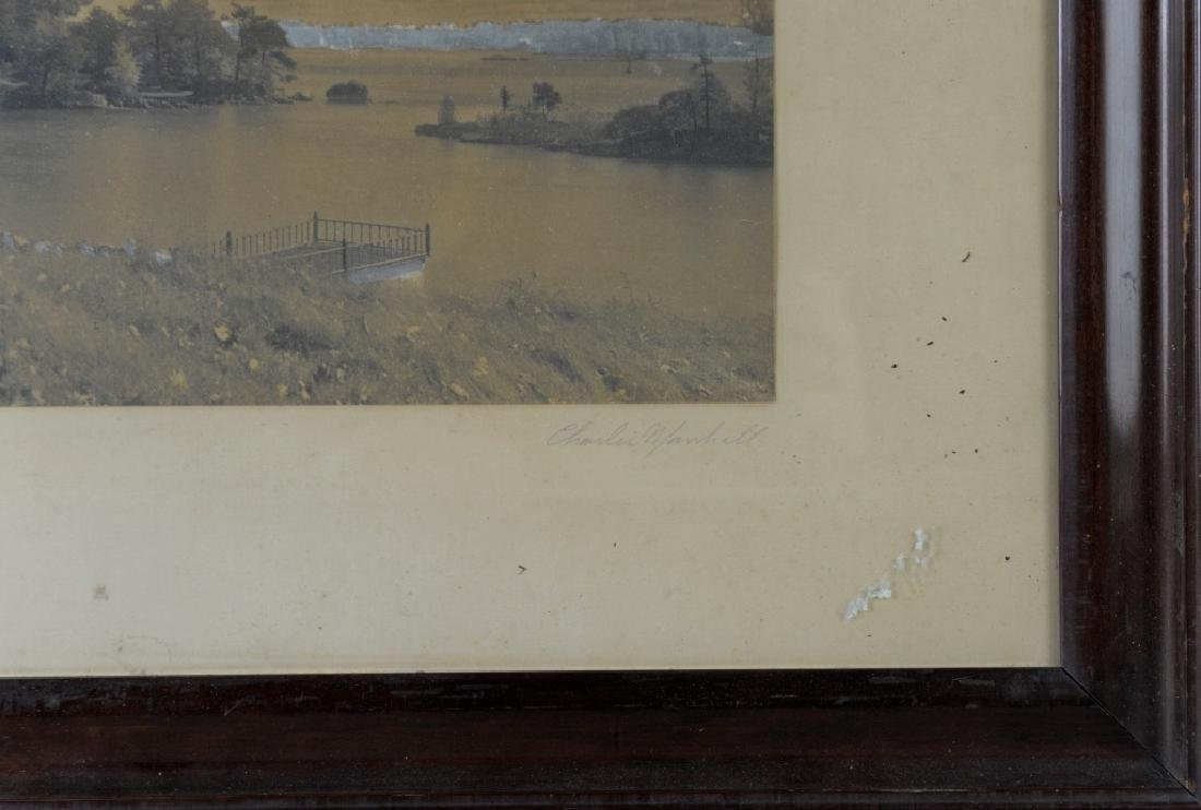 Vintage Photograph of a River Scene - 4