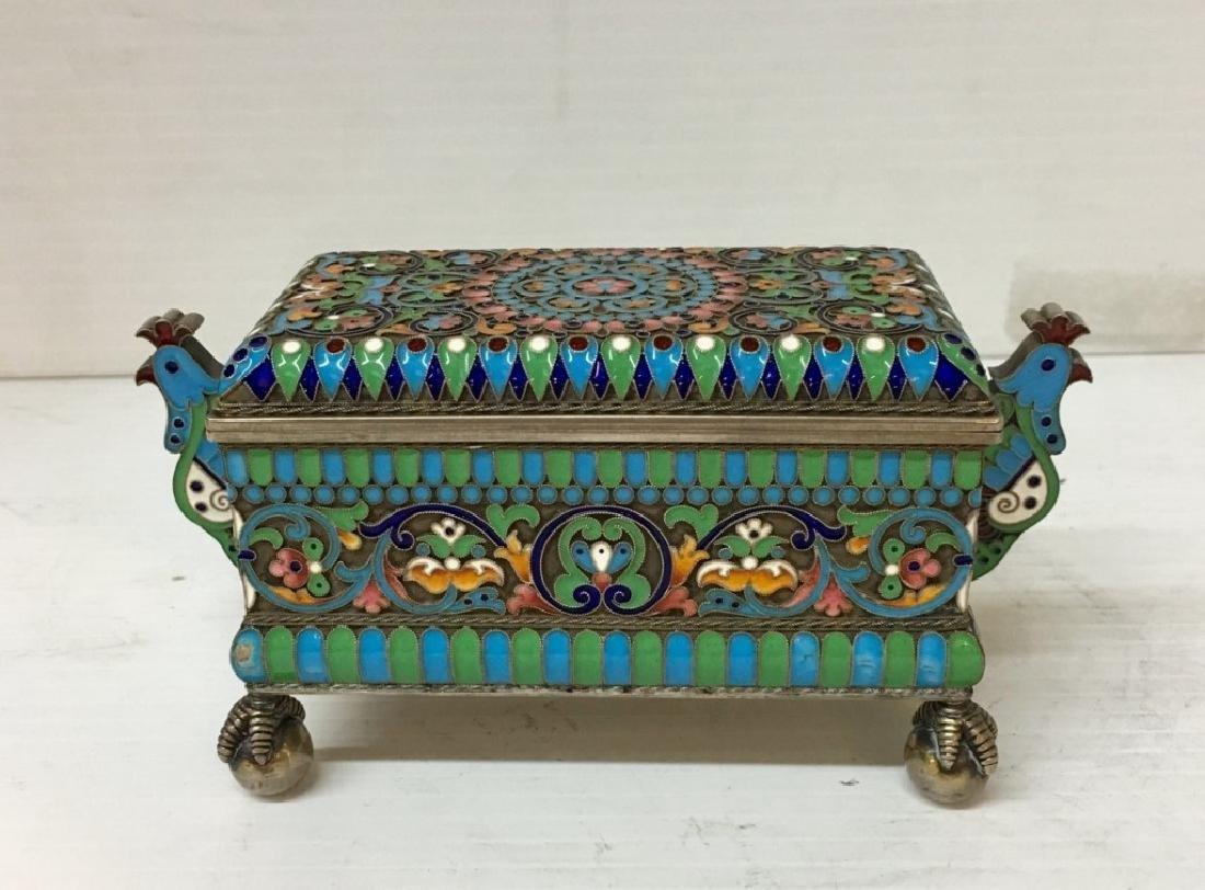 Russian Enamel Box