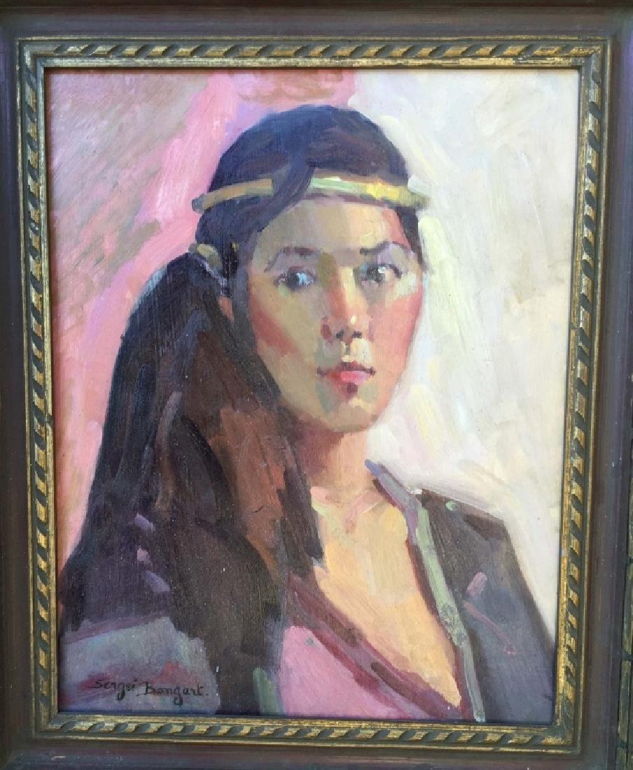 Oil on Canvas, Signed Sergei Bongart (1918 - 1985)