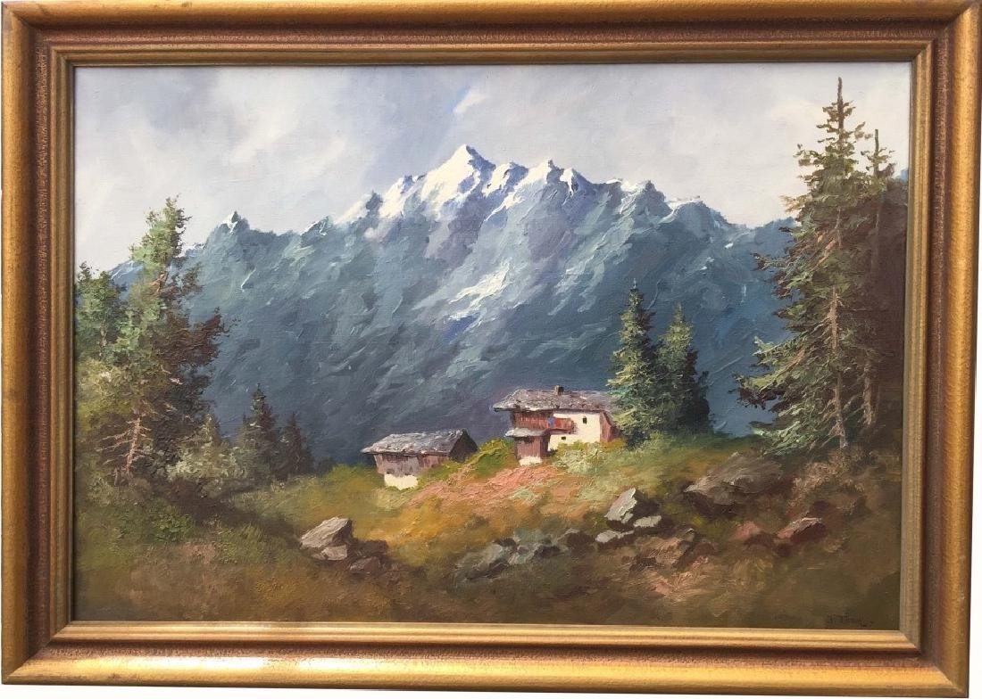 Oil on Canvas, Signed John Fery (1859-1934)