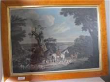 Painting of English Hunting Scene