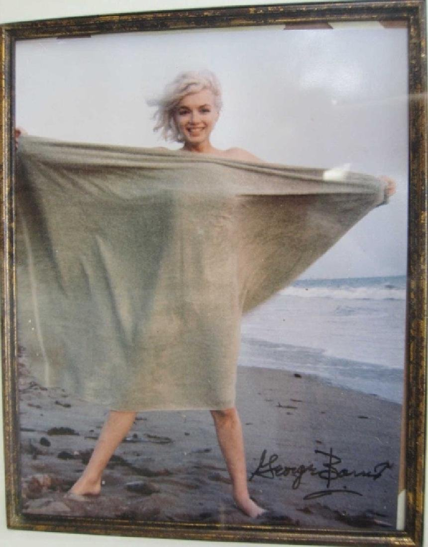 Marilyn Monroe Photograph, Signed George Barris