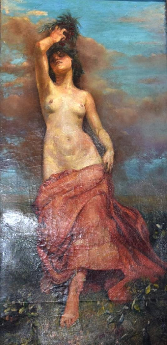Annie Swynnerton, Oil on Canvas
