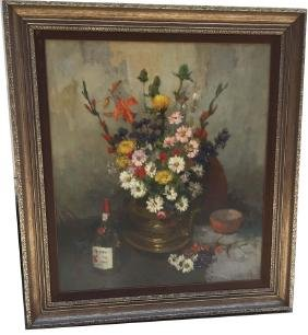 Oil On Canvas, Signed Isupov