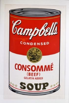 Andy Warhol Campbell's Soup Lithograph