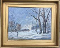 Oil on Canvas, Signed Bruce Crane