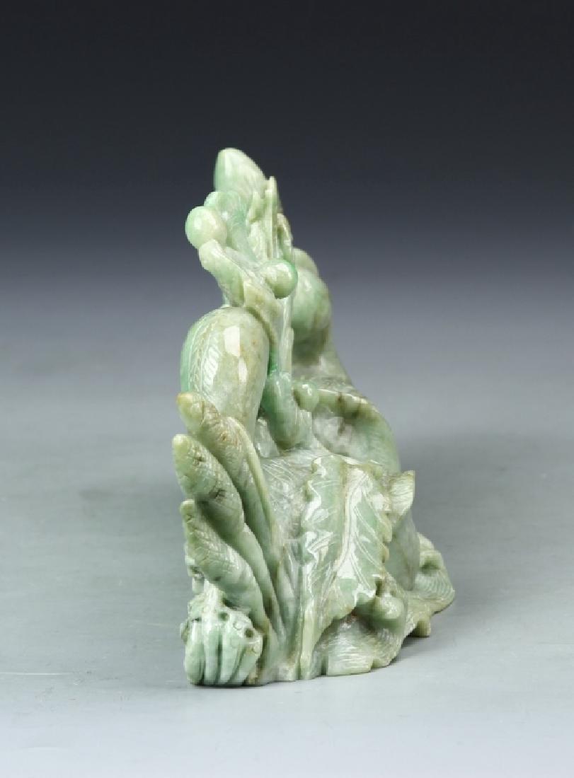 Chinese Jadeite Duck Boulder - 4