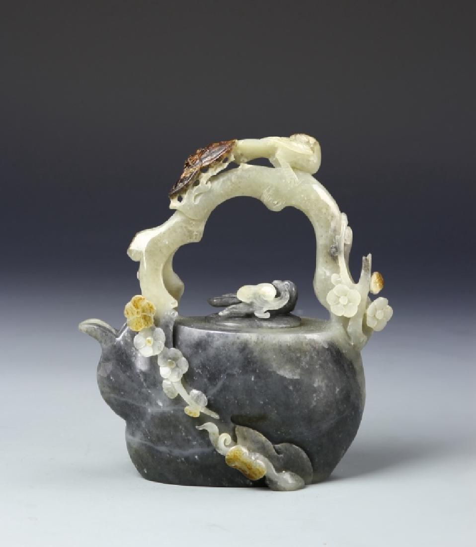Chinese Jade Teapot - 3