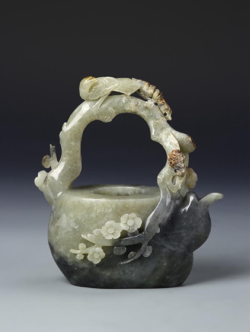 Chinese Jade Teapot - 4