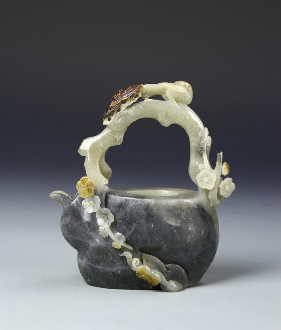 Chinese Jade Teapot - 7