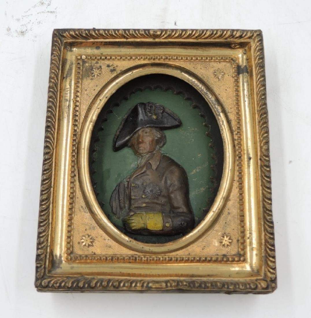 Gilded Wood Framed Frederick the Great Portrait