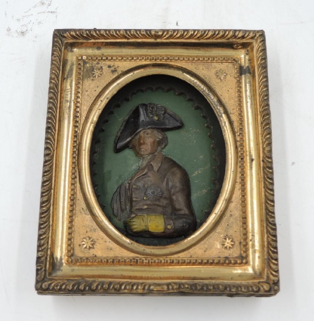 Gilded Wood Framed Frederick the Great Portrait