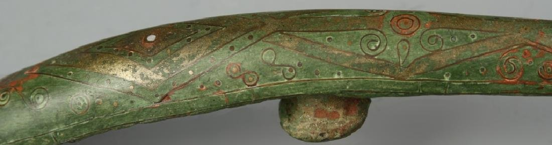 Chinese Bronze Belt Hook - 2