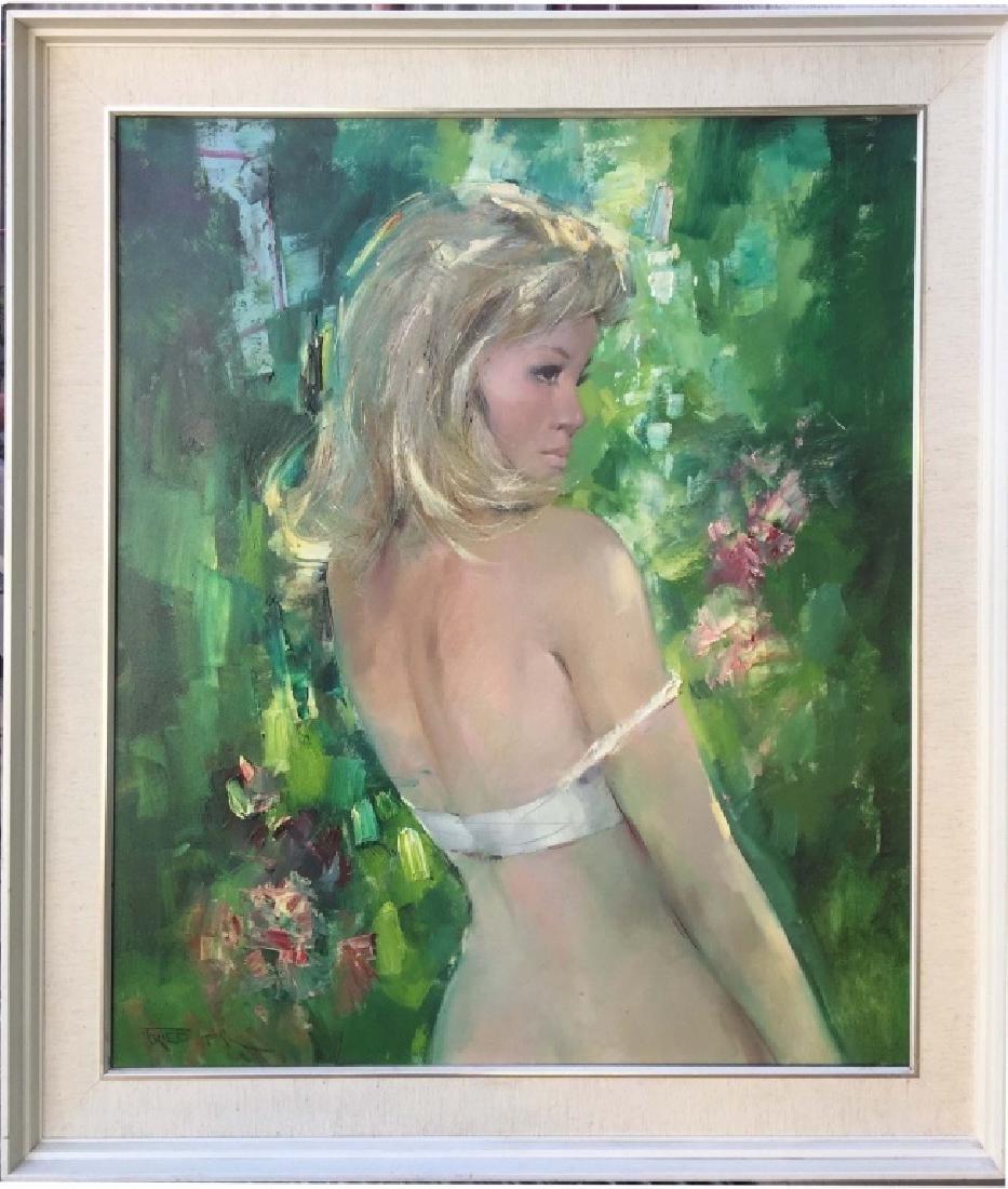 Pál Fried (1893 - 1976), Oil on Canvas
