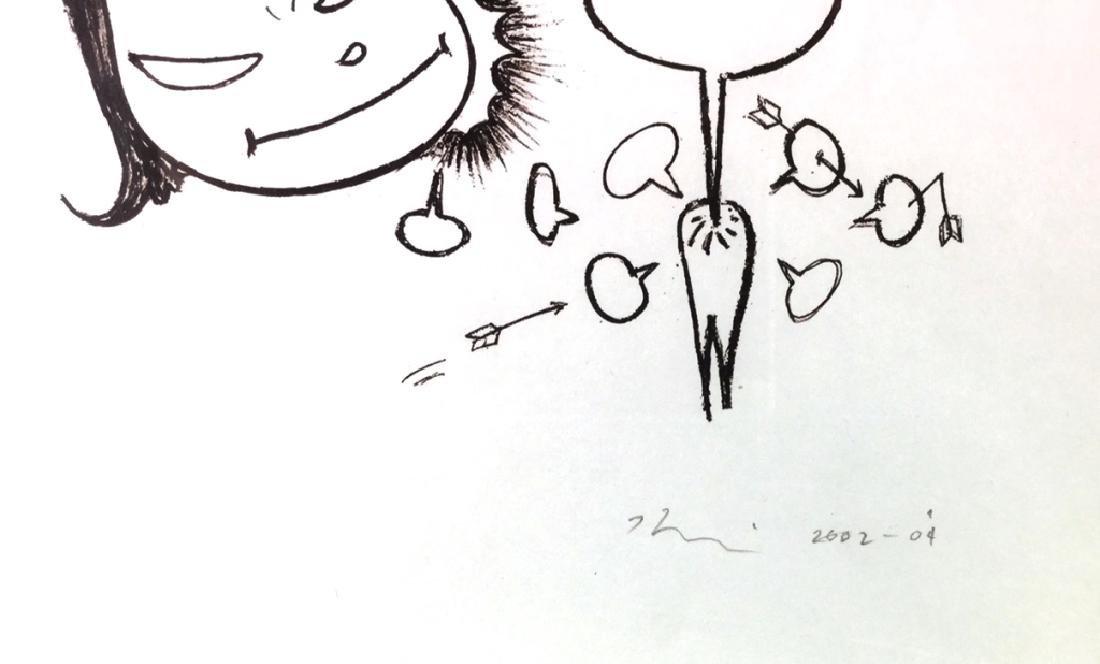 """Yoshitomo Nara, """"Pain"""" - 3"""