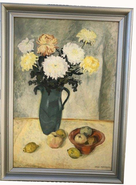 Oil on panel, Jane Peterson  (1876 - 1965)