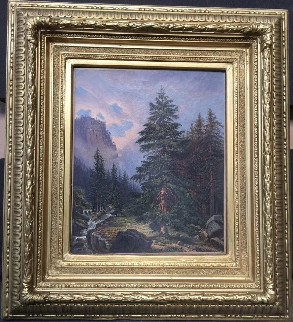 Oil on Canvas, Albert Bierstadt