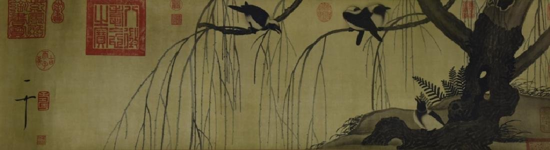 Chinese Scroll of Painting and Calligraphy - 3