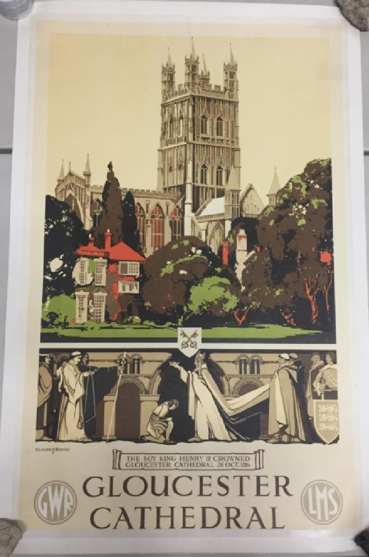 Gloucester Cathedral, British Railway Poster