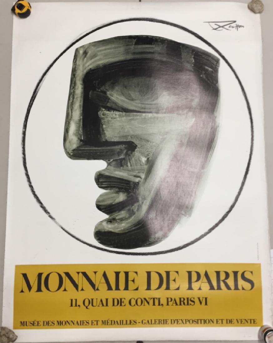 Monnaie de Paris, French Museum Exhibition Poster