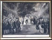 Antique Print of Painting by H.C. Selous