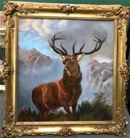 Oil on Canvas, signed Arthur Fitzwilliam Tait