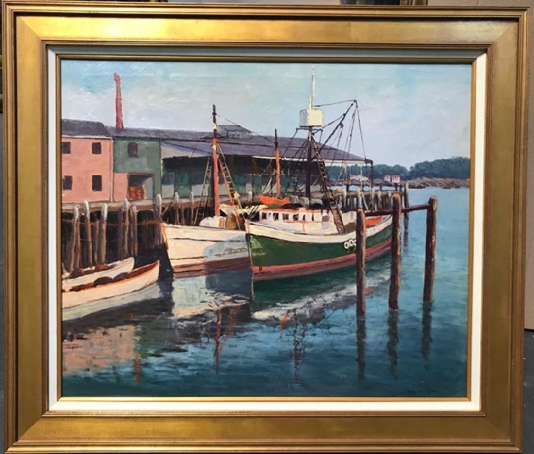 Oil on Canvas, Signed Jane Peterson
