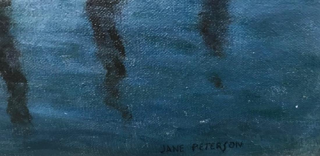 Oil on Canvas, Signed Jane Peterson - 6