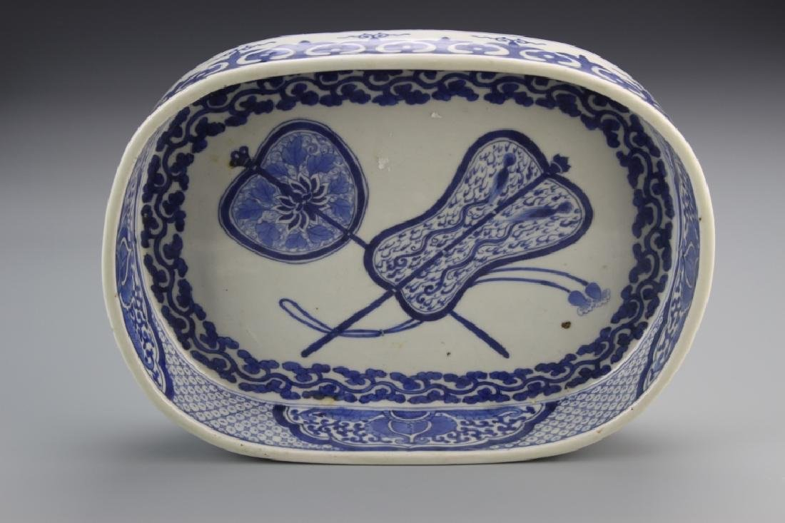 Chinese Export Blue and White Tureen - 2