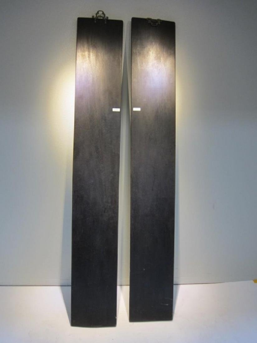 Pair of Chinese Carved Panels - 9