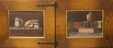 Two Framed Print Artworks