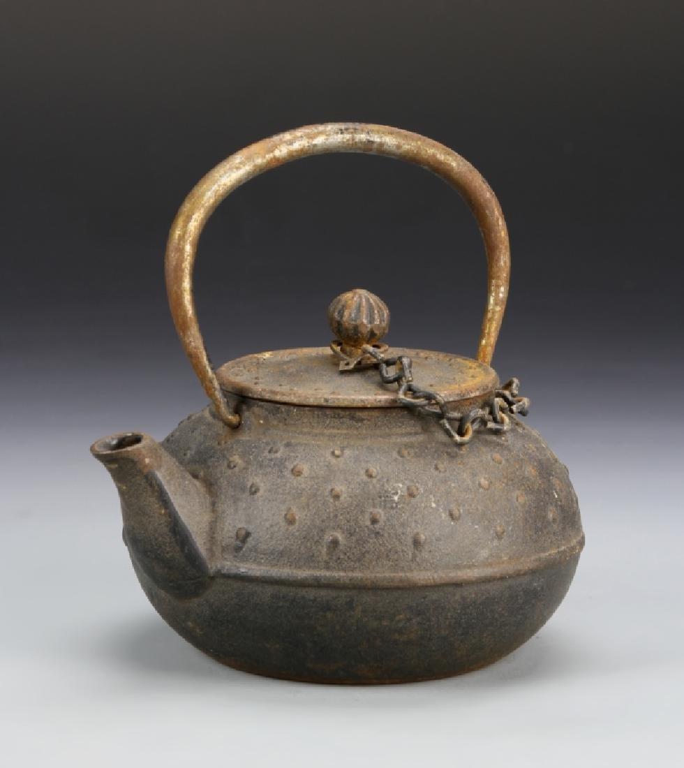 Japanese Metal Teapot