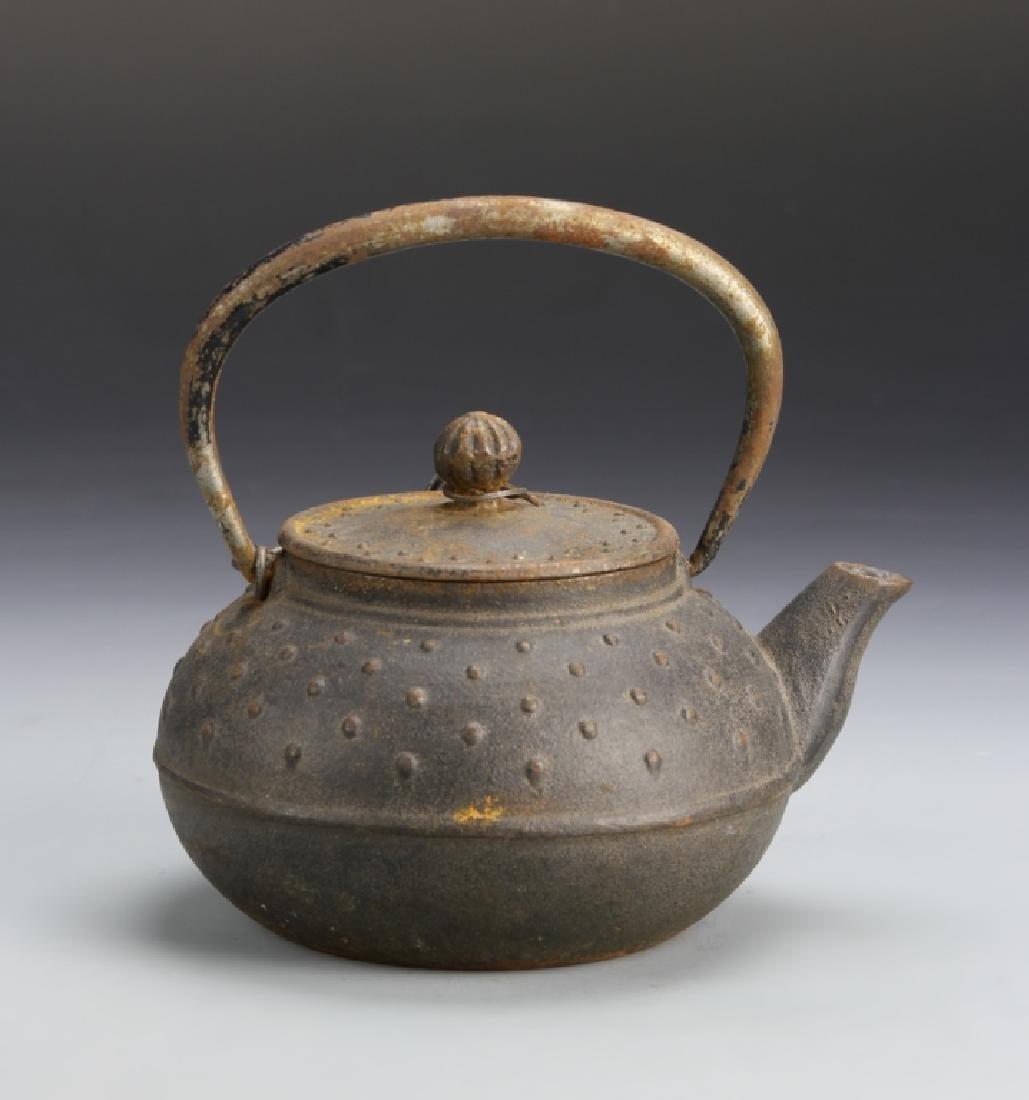 Japanese Metal Teapot - 3