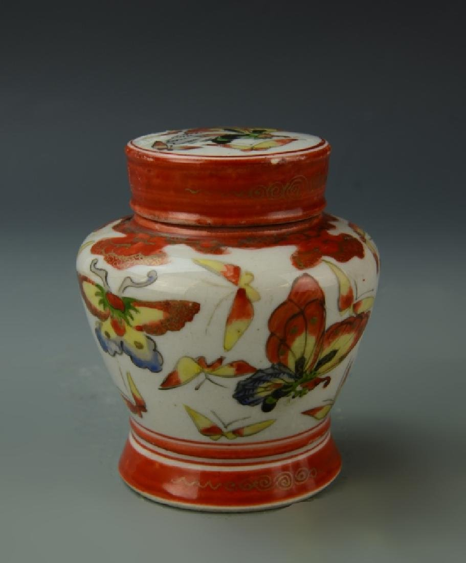 Chinese Five Porcelain Items - 4