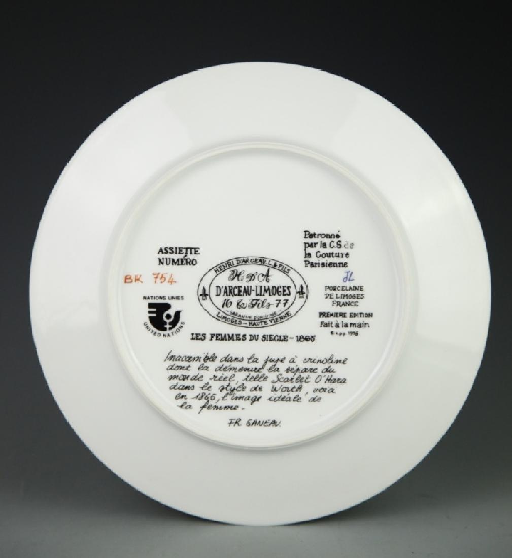 P'arceau-Limoge Plate - 4