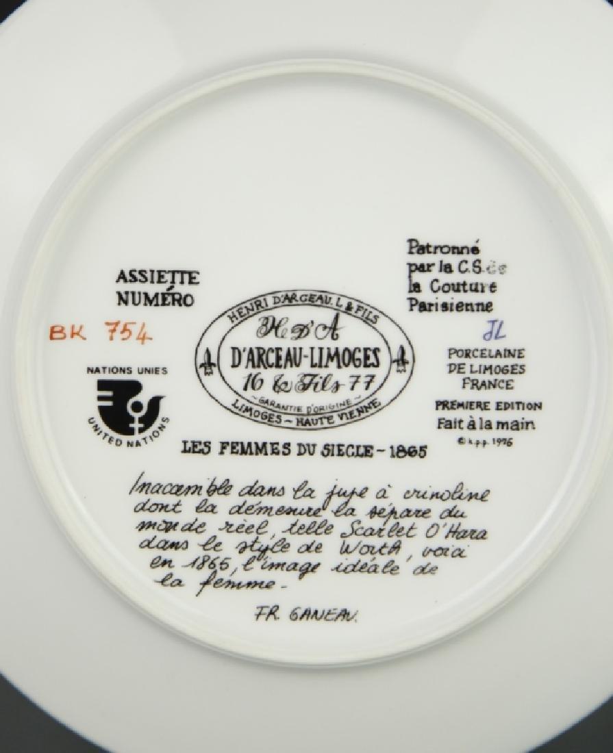 P'arceau-Limoge Plate - 5