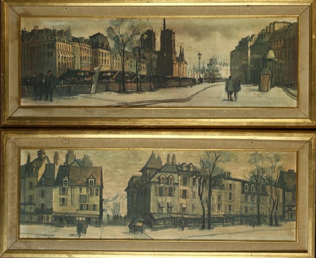 Framed Street Scene Print