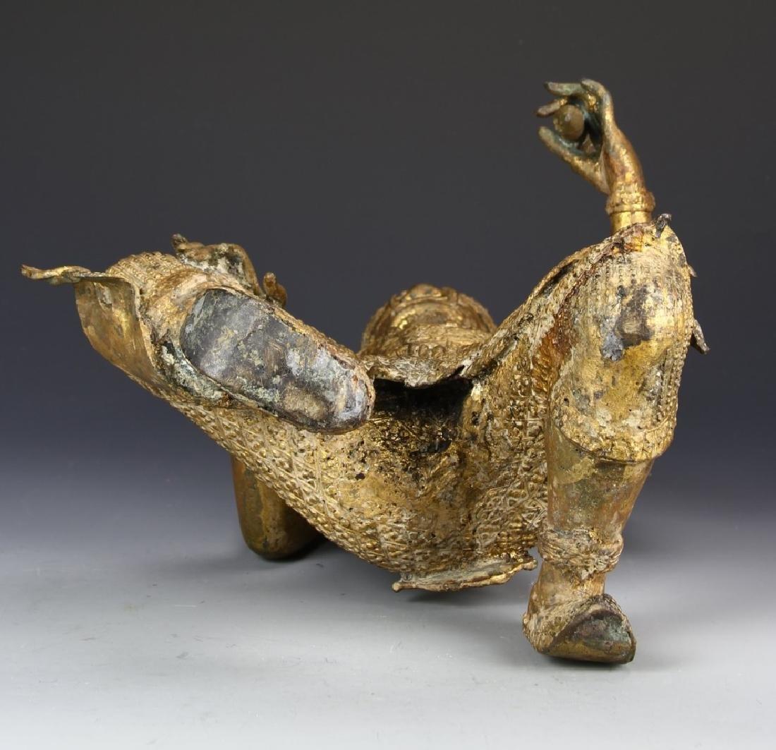 Thailand Gilt Bronze Buddha - 6