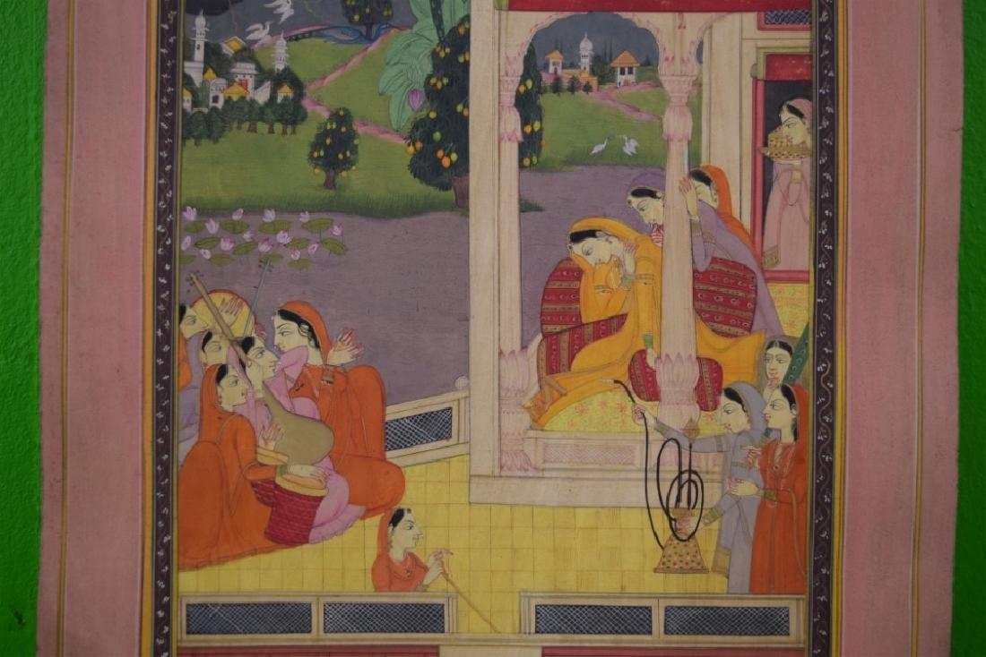 Indian Pahari Miniature Painting - 2