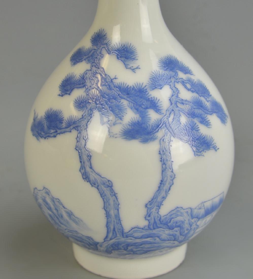 Chinese Enameled Vase - 7