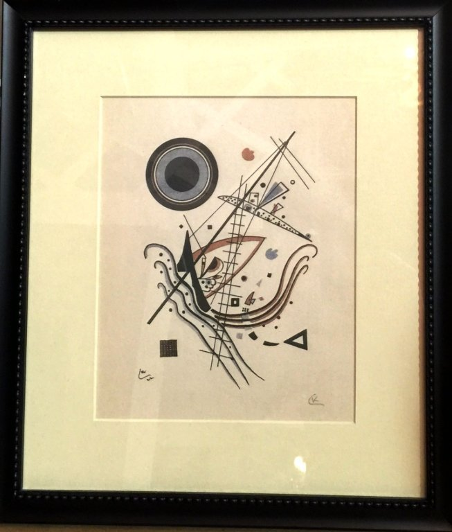 WASSILY KANDINSKY WATERCOLOR