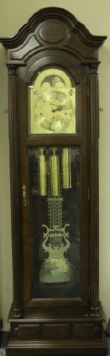 Germany Mahogany Tall Case Clock