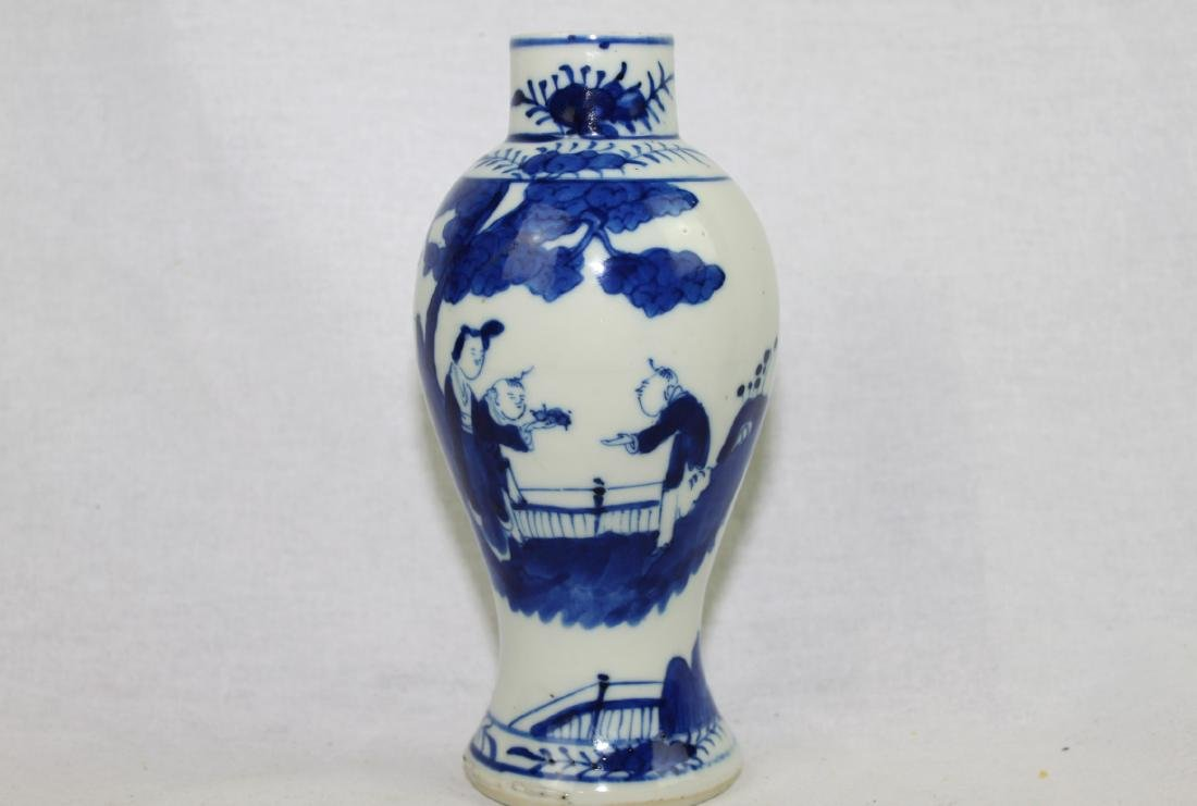 Chinese Blue&White Porcelain Vase - 2