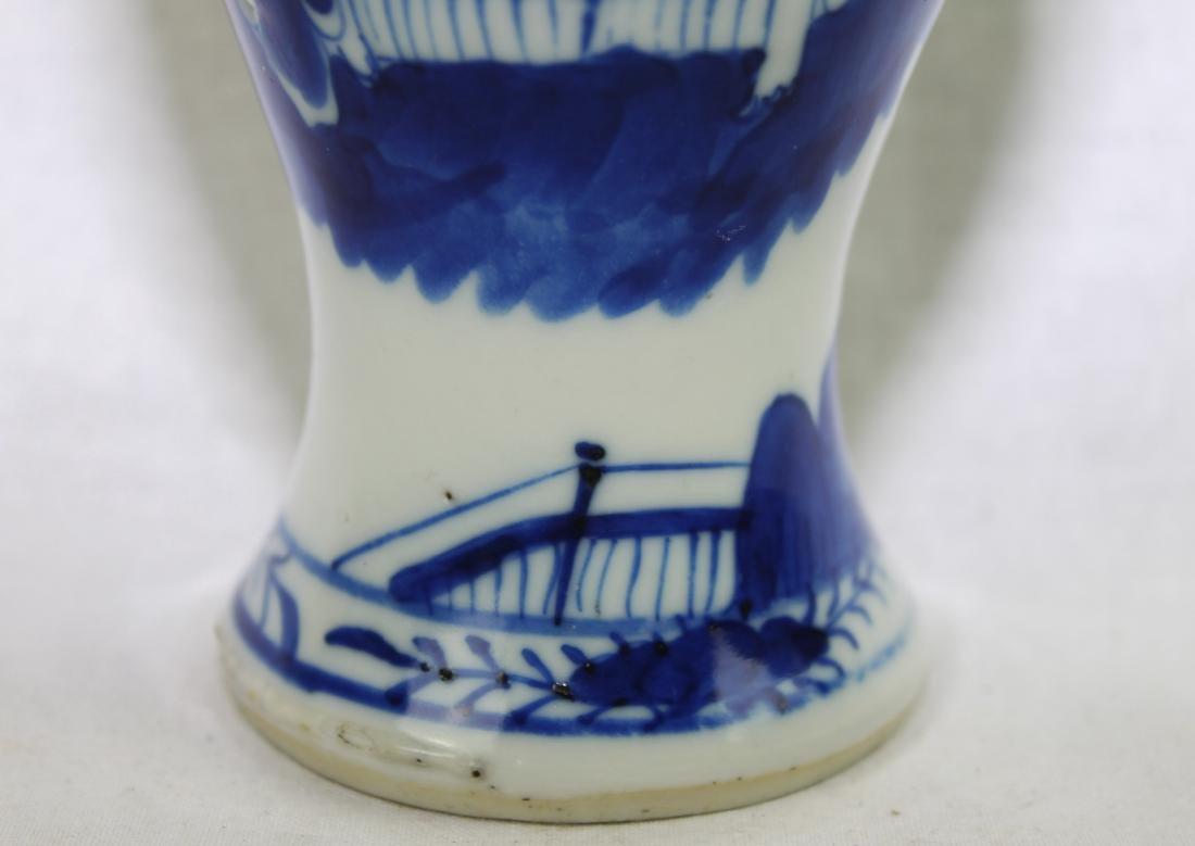 Chinese Blue&White Porcelain Vase - 4
