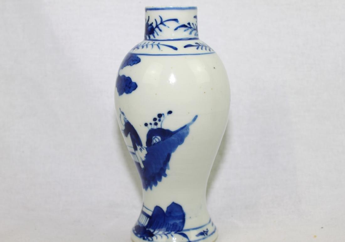 Chinese Blue&White Porcelain Vase - 5
